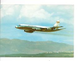 """AVION / CONVAIR CV 990 A CORONADO """"SPANTAX""""  / CPM VIERGE Format 15 X 10,5  / TTBE +++ - 1946-....: Moderne"""