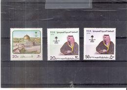 K.S.A. - Yv.484/86 - - XX/MNH - Arabie Saoudite
