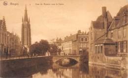 BRUGES - Quai Du Rosaire Vers Le Dyver - Brugge
