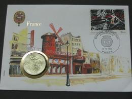 100 Francs Argent 1985 EMILE ZOLA - Enveloppe Timbre + Monnaie **** EN ACHAT IMMEDIAT **** - N. 100 Francs