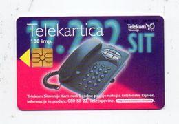 Telekom Slovenije 100 Imp. Phonecard - Telef. Tajnica - Slowenien