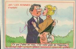CP FANTAISIES- AH!  LES FEMMES -L'Espiègle -   ILLUSTRATEUR NUE  NU Humouristique  AV 2018  017 - Humor