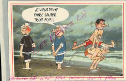 CP FANTAISIES  Je Viens De Me Faire Sauter Tros Fois  ..- ILLUSTRATEUR  Humouristique  AV 2018  063 - Humor