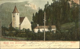 10595669 Semmering Niederoesterreich Semmering Spital X 1900 Semmering - Non Classificati