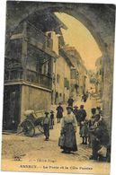 ANNECY - 74 -CPA COLORISEE - La Porte Et La Cote Perrier - ROUIL2 - - Annecy