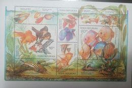 L) 2002 CZECH REPUBLIC, FISHES, FAUNA, NATURE, ANIMALS, SPECIE, AQUARIUM FISHES, MNH - Czech Republic