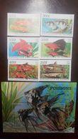 L) 1998 REPUBLIC OF GUINEA, FISHES, NATURE, ANIMALS, SPECIE, FAUNA, MNH - Guinea-Bissau