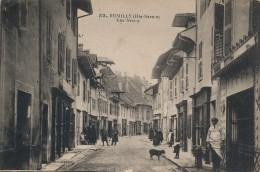 H99 - 74 - RUMILLY - Haute-Savoie - Rue Neuve - Rumilly