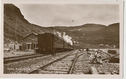 Real Photo Opset Bergensbanen Train - Norvège