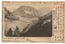 Fursterthun Liechtenstein Saminathal Mit Succa P. Used Vaduz 1900 - Liechtenstein