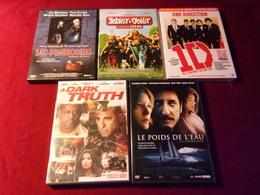LOT DE 5 DVD   POUR 10 EUROS ( Lot 33 ) - DVDs