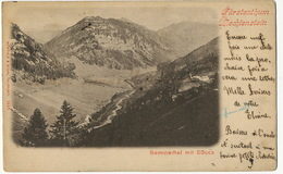 Fursterthun Liechtenstein Saminathal Mit Succa P. Used - Liechtenstein