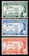DOMINICA 1958 -  Set MNH** - Dominique (...-1978)