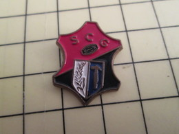 Pin1415b Pin's Pins / Beau Et Rare : SPORTS / RUGBY CLUB SCG - Rugby