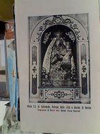 BOVINO PAESE FOGGIA  Foglietto PREGHIERA MADONNA SS DI VALLEVERDE 1960 GR817 - Manfredonia