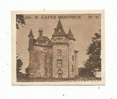 CHROMO , Café MONTOUX , POITIERS , Château De Maumont , 19,environs D'Egletons, 2 Scans - Tea & Coffee Manufacturers