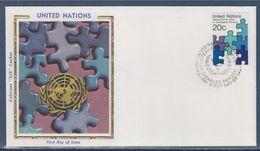 = Année Internationale Des Personnes Handicapées New-York 6.04.81 N°335 Aide Stylisée - FDC