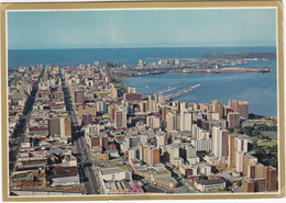 Durban, With Harbour In The Background - Natal - (South-Africa) - Zuid-Afrika