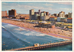 Durban, Surfriders, Swimmers And Sunbathers - South Beach - Natal - (South-Africa) - Zuid-Afrika