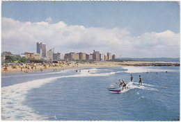Durban - Surf Riding At North Beach - Natal - (South-Africa) - Zuid-Afrika