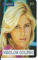 Femme Girl Télécarte Brésil Phonecard  (D 283) - Brésil
