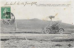 Puy De Dôme PIERRE SUR HAUTE Beau Plan Tacot Automobile ...G - Andere Gemeenten