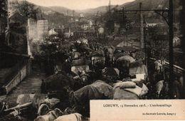 LONGWY -54- 15 NOVEMBRE 1908 - L'EMBOUTEILLAGE - Longwy