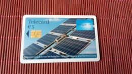 Phonecard Solar Panels Used - Belgien
