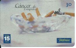 Cigarette Santé Télécarte Brésil Phonecard  (D 286) - Brésil