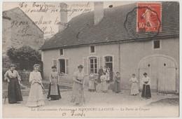 CPA 52 Les Excursionnistes Parisienne - ROOCOURT LA COTE La Partie De Croquet - France