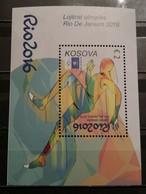Kosovo ,2016, Sport Olympic Games Rio De Janeiro, Block (MNH) - Sommer 2016: Rio De Janeiro