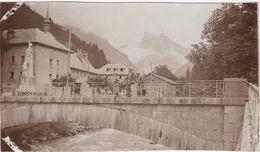 Photo Originale Haute Savoie Le Pont De SIXT - Luoghi