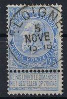 Nr. 60 Met  Stempel SELOIGNES ; Staat Zie Scan ! Inzet Aan 5  €  ! - 1893-1900 Fine Barbe