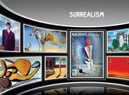 MALDIVES 2016 - Surrealism, Elephants - YT BF974 - Elephants