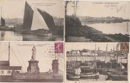 18 / 4 / 41  -  LOT  DE  12  CPA  DE  LA  POINTE  DU  RAZ  (29 ) Toutes Scanées - Cartes Postales