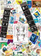 JOLI LOT DE 1000 TIMBRES OBLITERES DE FRANCE TRES BON ETAT - Lots & Kiloware (mixtures) - Min. 1000 Stamps