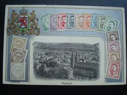 DIEKIRCH EN 1912 ET EN RELIEF - Bettembourg