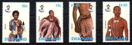 SWAZILAND. N°670-3 De 1997. Ornements. - Swaziland (1968-...)