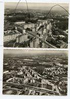 2 CPSM. Gf. D69. CALUIRE Et CUIRE. Vue Aérienne Sur Le Quartier De MONTESSUY - Caluire Et Cuire