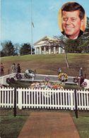 CPSM Tombe Du Président Kennedy - Présidents