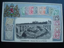 LUXEMBOURG: Nouveau Pont Sur La PETRUSSE En 1913 Et En Relief - Bettembourg