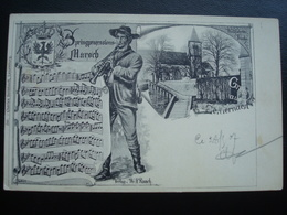 Gruss Aus ECHTERNACH  In 1907 - Pringprozessions-march - Bettembourg