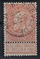Nr. 57 Met  Stempel BASSEVELDE  ; Staat Zie Scan ! Inzet Aan 5  €  ! - 1893-1900 Fine Barbe