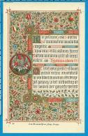 Holycard   Van De Vyvere Petyt - Images Religieuses
