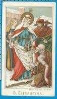 Holycard   B.Kûhlen   St. Elisabeth - Imágenes Religiosas