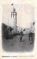 MAROC - EVENEMENENS DU MAROC - CASABLANCA UNE RUE - Casablanca