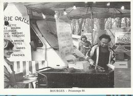 18 / 4 / 47 - BOURGES ( 18 ) PRINTEMPS  86 - GASTON  TOURAINE , Un Des Nutritionniste Des Festivaliers - CPM - Bourges