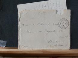 76/677    LETTRE BELGE 1915 AVEC CONTENU   P.M. NR. 5 - Armée Belge