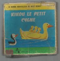 BOBINE DE FILM Dans Sa Boite , Walt Disney , Kikou Le Petit Cygne ,super 8, 3 Scans, Frais Fr 4.85 E - 35mm -16mm - 9,5+8+S8mm Film Rolls