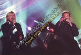 Carte Postale Johnny HALLYDAY & RENAUD (182) - Artiesten